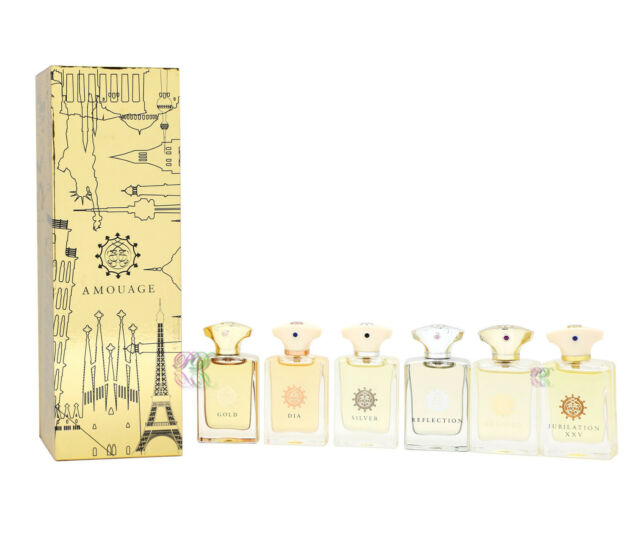 Amouage Classic Collection Man Miniature Edp 7.5ml x 6 Perfume Men Gift Set New