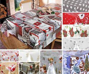Wachstuchtischdecke-abwischbar-Tischdecke-Weihnachten-Motiv-und-Groesse-waehlbar