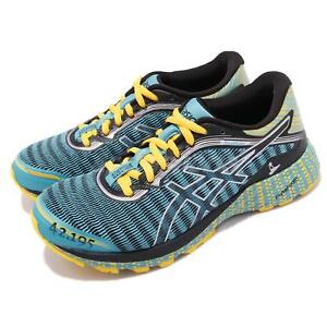 online retailer 4996f 62d0a Details about Asics DynaFlyte Stockholm Marathon Blue Yellow Womens Running  Shoes T75UQ-3990