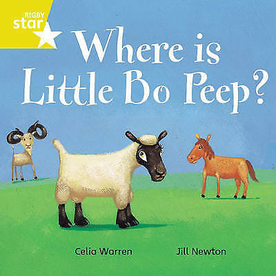 1 of 1 - Rigby Star Independent Yellow Reader 7 Where is Little Bo Peep?, Newton, Jill, W