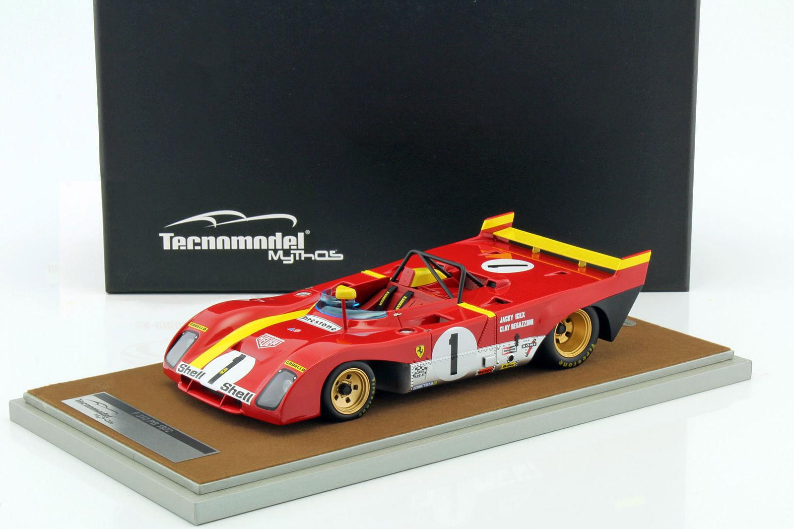 Ferrari 312 pb 1 ganador pelaRegazzoni Limited 100PC  por Tecnomodel TM18-62C