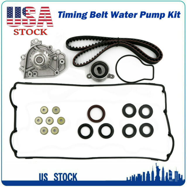 Timing Belt Kit Water Pump Valve Cover Gasket For 87