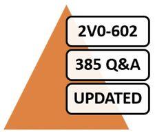 2V0-602 (VMware vSphere 6.5 Foundations, 385 Q&A, PDF FILE!