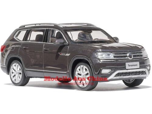1:43 SAIC Volkswagen 2017 Teramont Nutshellbraun M. Nutshell Brown M. Händler