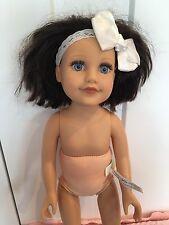 "Journey Girls  18"" Doll Brown Short Hair Blue Eyes Tight Limbs Caucasian Doll"