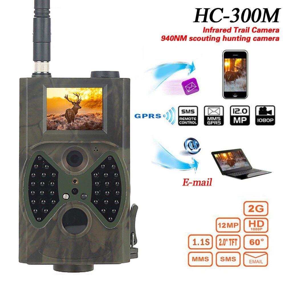 HC-300M HD Jagd Trail Digital Tier Kamera 940nm Scout Infrarot 12MP GSM NEU