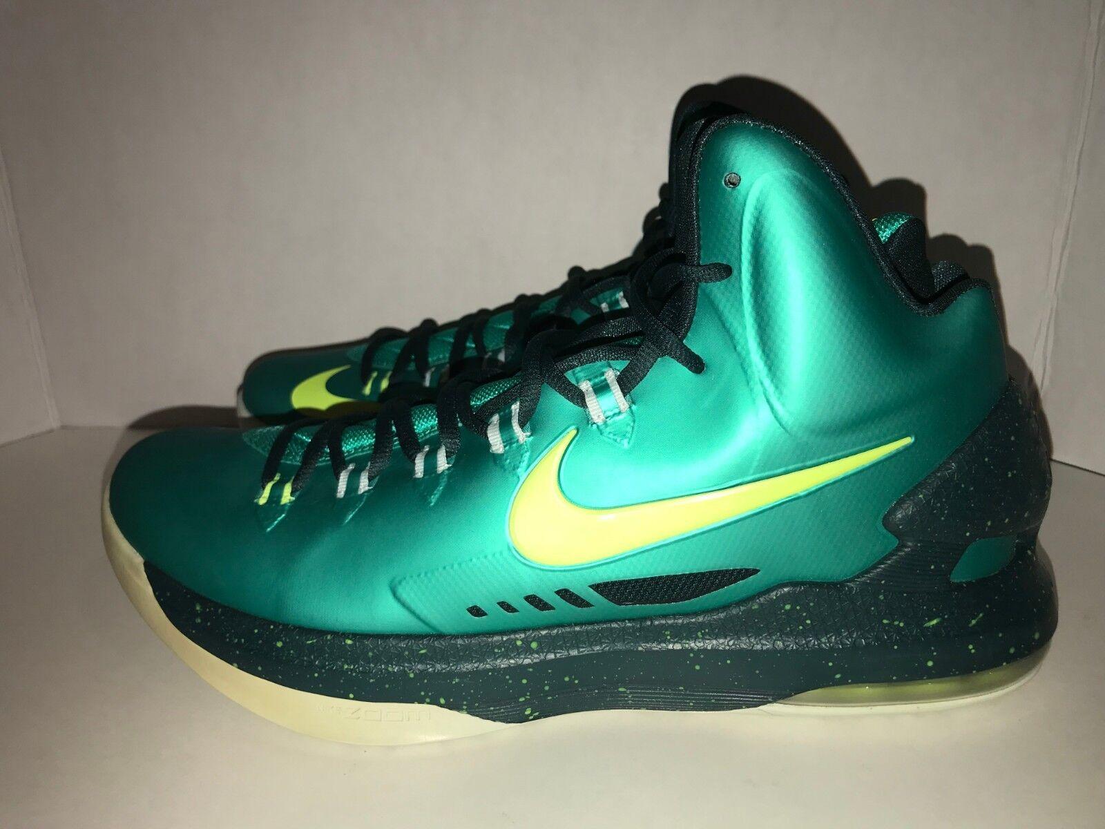 Nike Kevin Durant KD V Incredible Hulk Men's Size 11 DS 583111 300