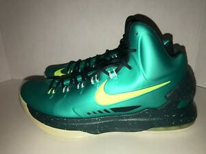 195863ef307e Nike Kevin Durant KD V Incredible Hulk Men s Size 11 DS 583111 300 ...