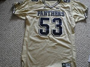 VINTAGE-PITTSBURGH-PANTHERS-FOOTBALL-JERSEY-2006-GAME-ISSUED-JERSEY-JONES-53