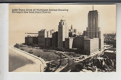 Horder Real Photo Postcard New Gold Coast District Chicago Illinois