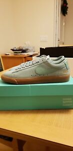 low priced 2be83 6b15d Image is loading Supreme-x-Nike-SB-Blazer-Low-GT-Blue-