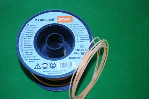 Sthil Trimmer Line 2.4mm square Heavy Duty 20 meter Length 100/% genuine Sthil