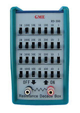 BRAND NEW! GME RD-300 Resistance Decade Box / Resistor Substitution Box