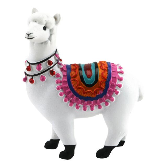 Weihnachten Deko Figur Kantensitzer Alpaka Lama