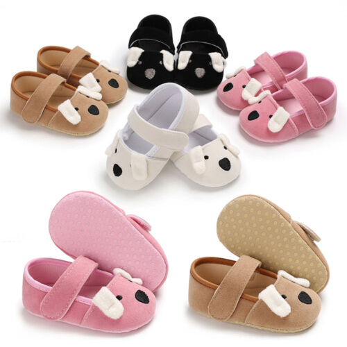 Baby Infant Sneakers Shoes Girl Soft Sole Crib Crochet Newborn Shoes 0-18M