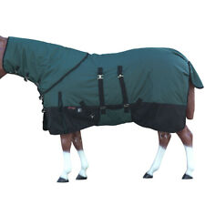 C-G-78 78 in Hilason 1200D Winter Horse Sheet Neck Cover Belly Wrap Turquoise
