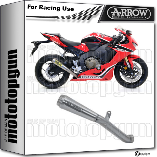 ARROW POT ECHAPPEMENT RACE PRO-RACE TITANIUM HONDA CBR 1000 RR 2017 17 2018 18