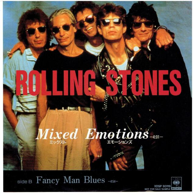 ROLLING STONES MIXED EMOTIONS JAPAN 7