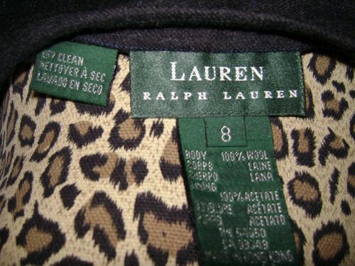 gessata 100 Lauren Grigio Womens 8 Ralph Skirtsize Nero lana Blu TBzRqqUAv