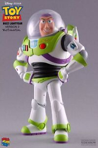 TOY-STORY-Buzz-Lightyear-7-034-Vinyl-Figure-Doll-Version-2-Medicom-NEW
