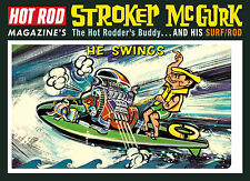 LINDBERG Hot Rod Magazine's Stroker McGurk Surf Rod PLASTIC MODEL KIT 873