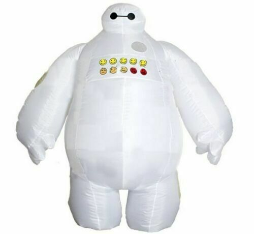 Big White Baymax Inflatable Air Blown Clothing 2019 Halloween Party Costume Prop