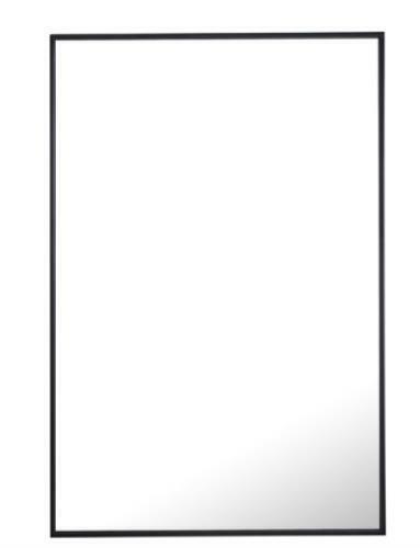 Elegant Lighting MR4077BK Eternity 42 X 28 inch Black Wall Mirror