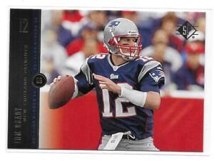 2008-Upper-Deck-SP-Rookie-Edition-Tom-Brady-Base-Card