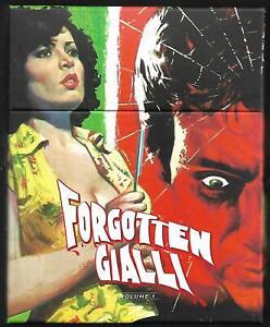 VINEGAR SYNDROME : Forgotten Gialli #1 (Lim. Boxset) OVP (Paul Naschy) Klimovsky