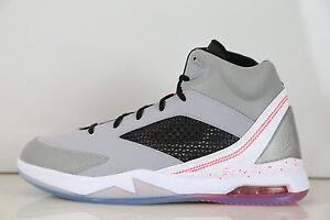 4ce3c45456b145 Nike Air Jordan Flight Remix Wolf Grey Infrared 23 679680-060 8.5-12 ...