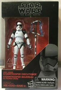 Star Wars Black Series 3.75 Executioner Stormtrooper First Order new WALMART EX