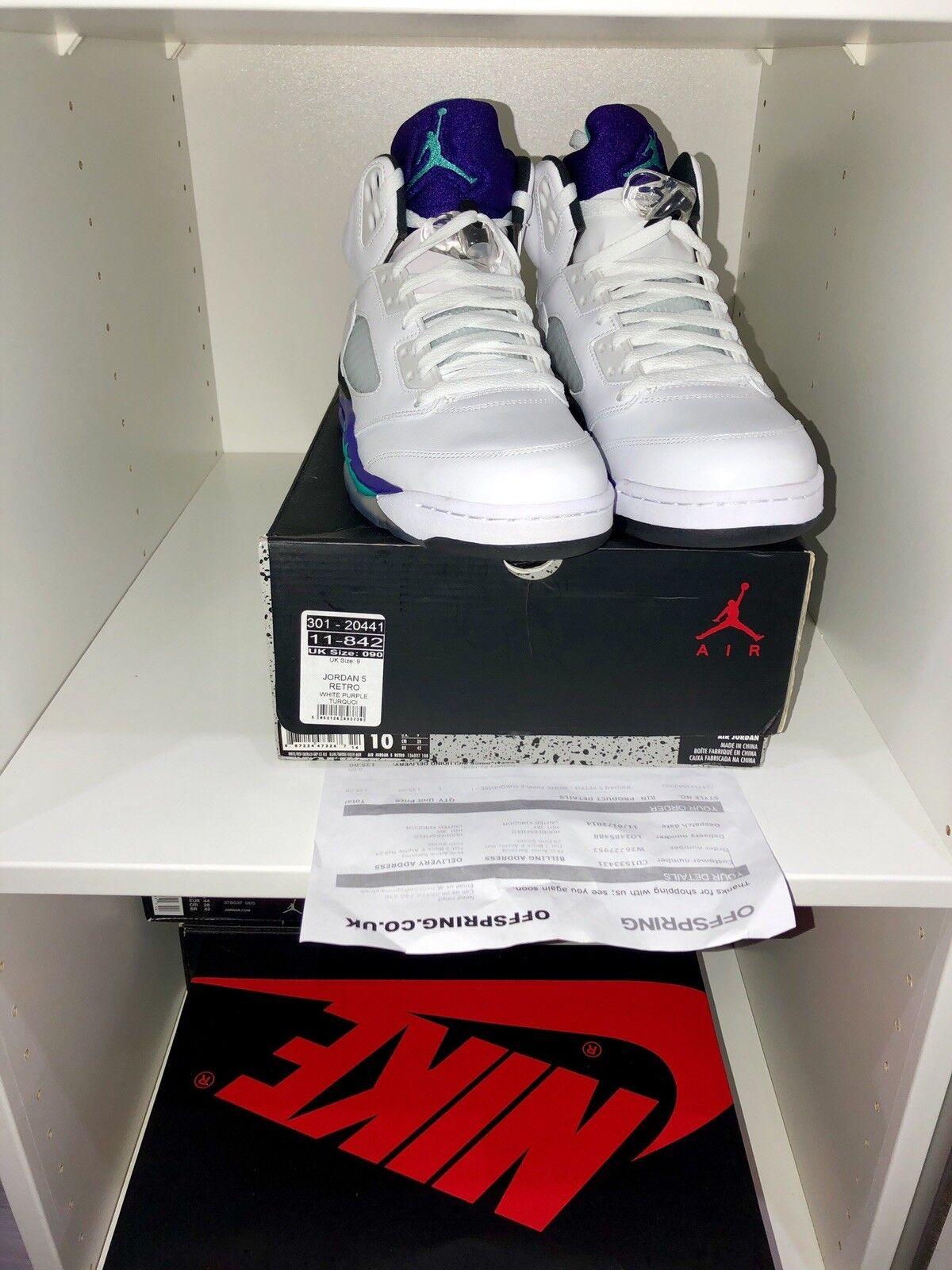 Air Jordan Retro 5 Grape