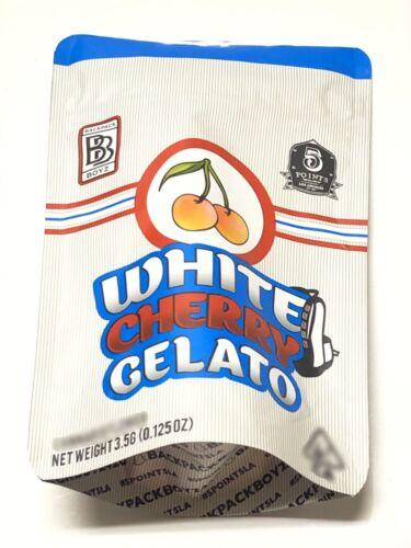 25ct *NEW DESIGN* WHITE CHERRY EMPTY BAGS BACKPACK BOYZ