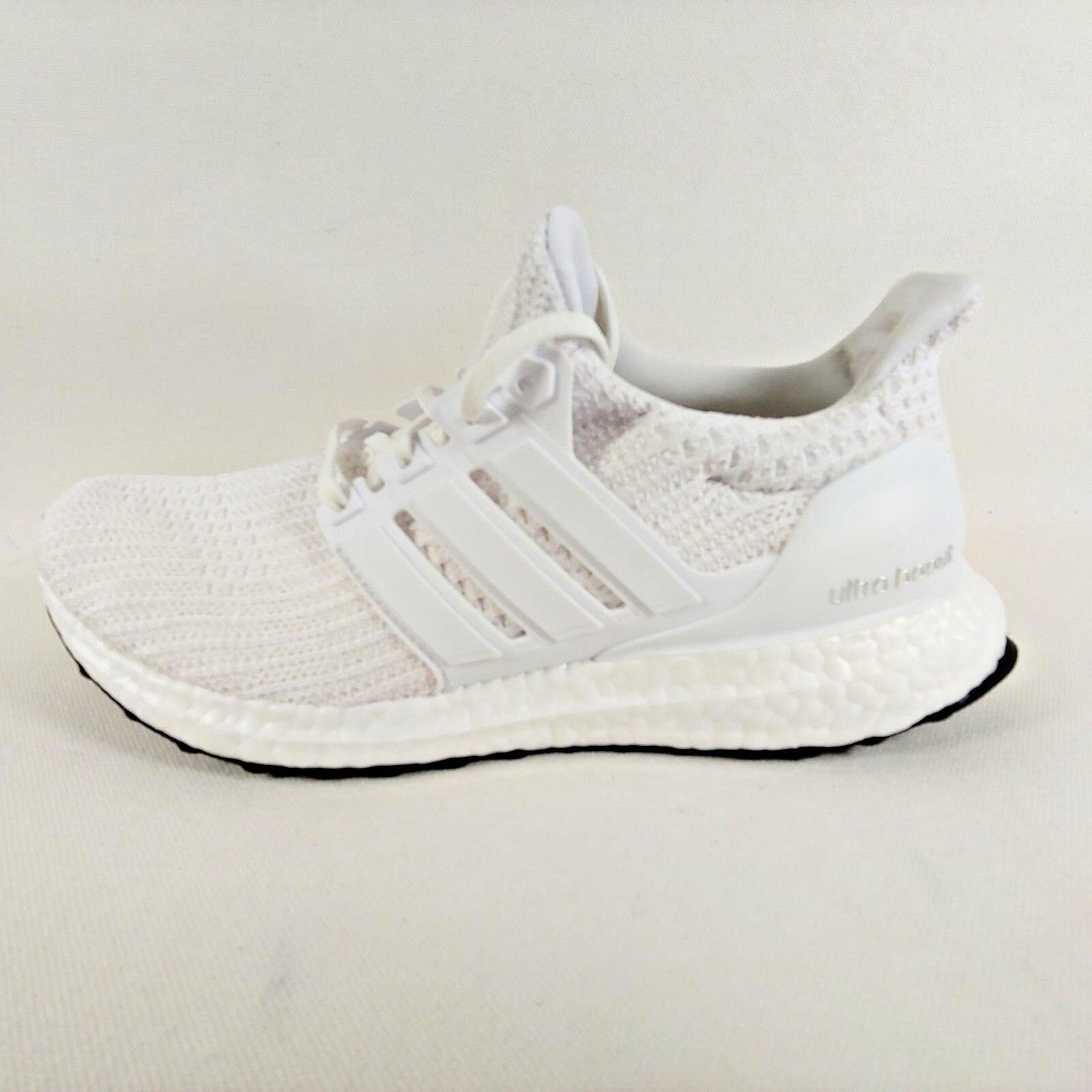 Adidas Ultra Boost 4.0 Triple Blanco Primeknit Correr Zapatillas Zapatillas Correr para hombre 4f7d64