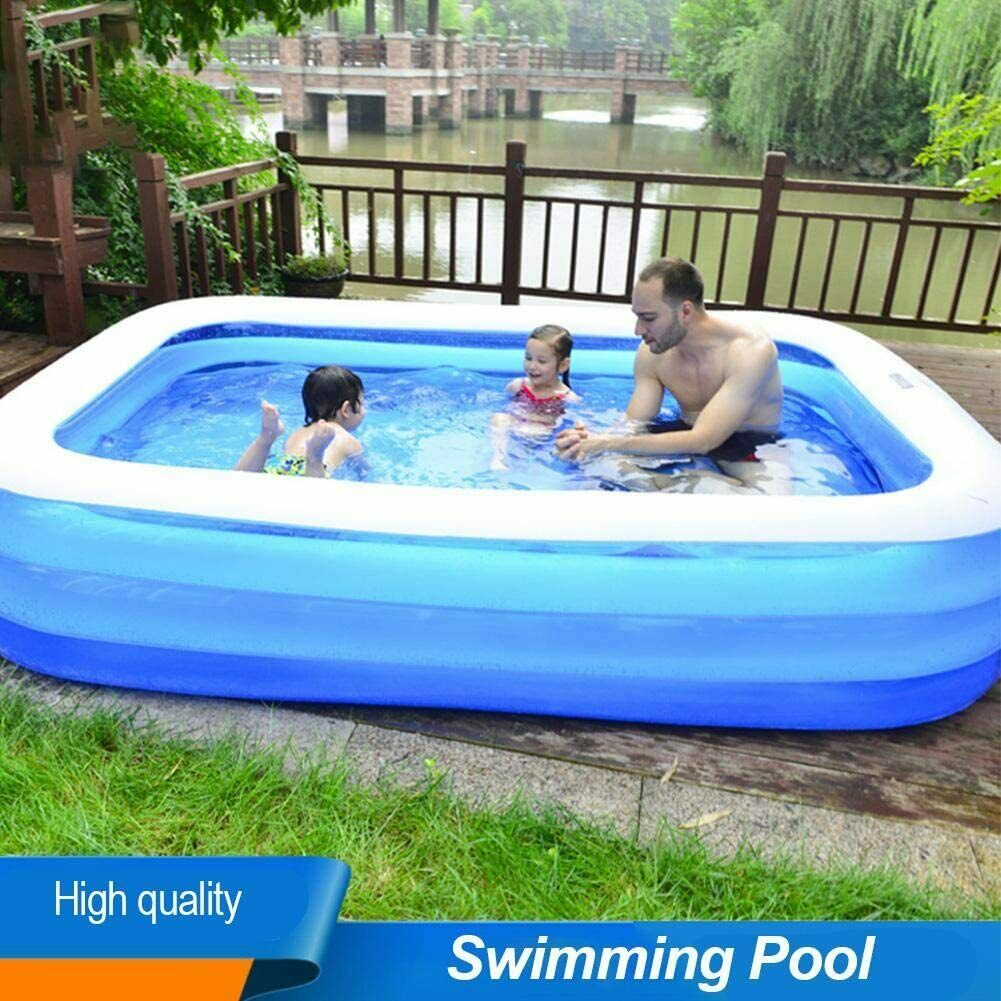 Family Swimming Pool Summer Inflatable portable Outdoor Hot Garden Kids Bathtub