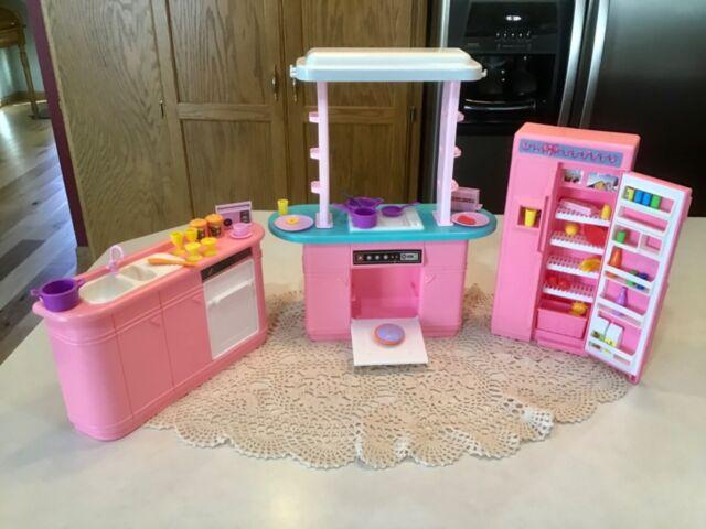 Vintage Barbie Kitchen Furniture Playset 65338 For Sale Online
