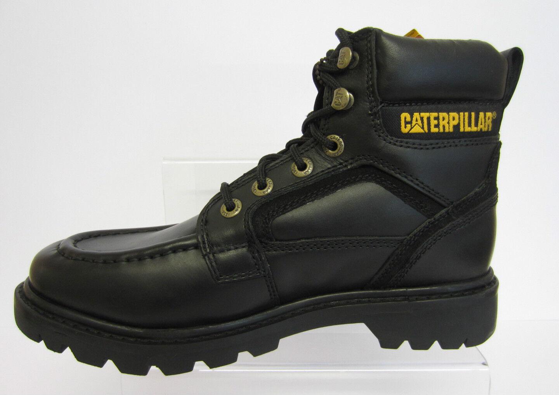 Botas De Cuero Negro para Hombre Caterpillar Transpose tamaño de de tamaño Reino Unido 6 a 12 (22E) 6d36b1