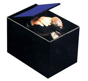 Retro-Animated-Coin-Bank-THING-MAGIC-HAND-BLACK-BOX-MONEY-TRAP-Collectible-Toy