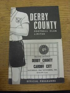 23111963 Derby County v Cardiff City  rusty staples slight torn Unless pre - Birmingham, United Kingdom - Returns accepted within 30 days after the item is delivered, if goods not as described. Buyer assumes responibilty for return proof of postage and costs. Most purchases from business sellers are protected by the Consumer Contr - Birmingham, United Kingdom
