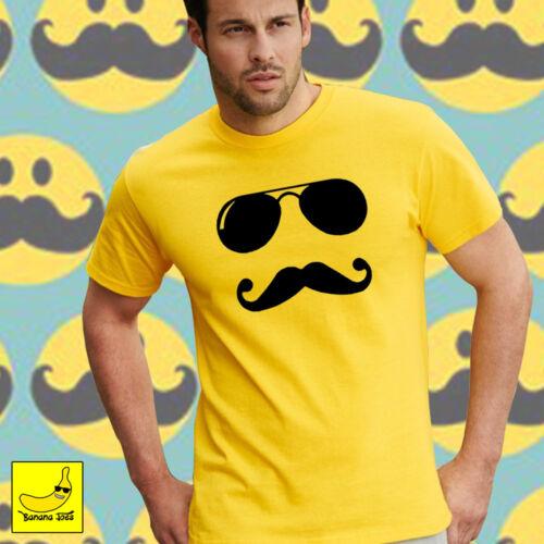 Smiley Face Novelty T-Shirt Funny Retro Acid Rave Festival Camping DJ Fancy Tee