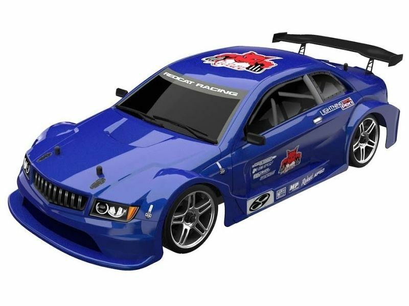 rossoCAT RACING LIGHTNING EPX PRO 1 10 SCALE ELC BRUSHLESS RC ON ROAD CAR blu