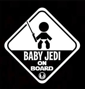 BABY ON BOARD Baby Child Window Bumper Car Sign Window Sticker