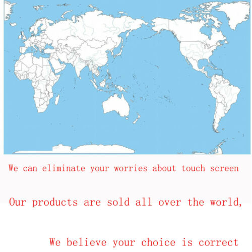 Resistance Touch screen  Panel For GPS Navigation MP4 MP5 161mm*96mm 161mm*97mm