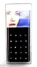 Multi-coloured 20X/Box Lot Sale Nose Studs Pin Piercing L Shape Bendable Gauges