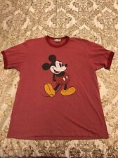 Vintage 90s Mickey Mouse Big Logo Ringer T Shirt Box Logo