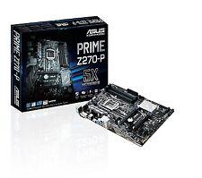 Asus PRIME Z270-P Intel Z270 LGA 1151  DDR4 ATX HDMI Desktop PC Motherboard