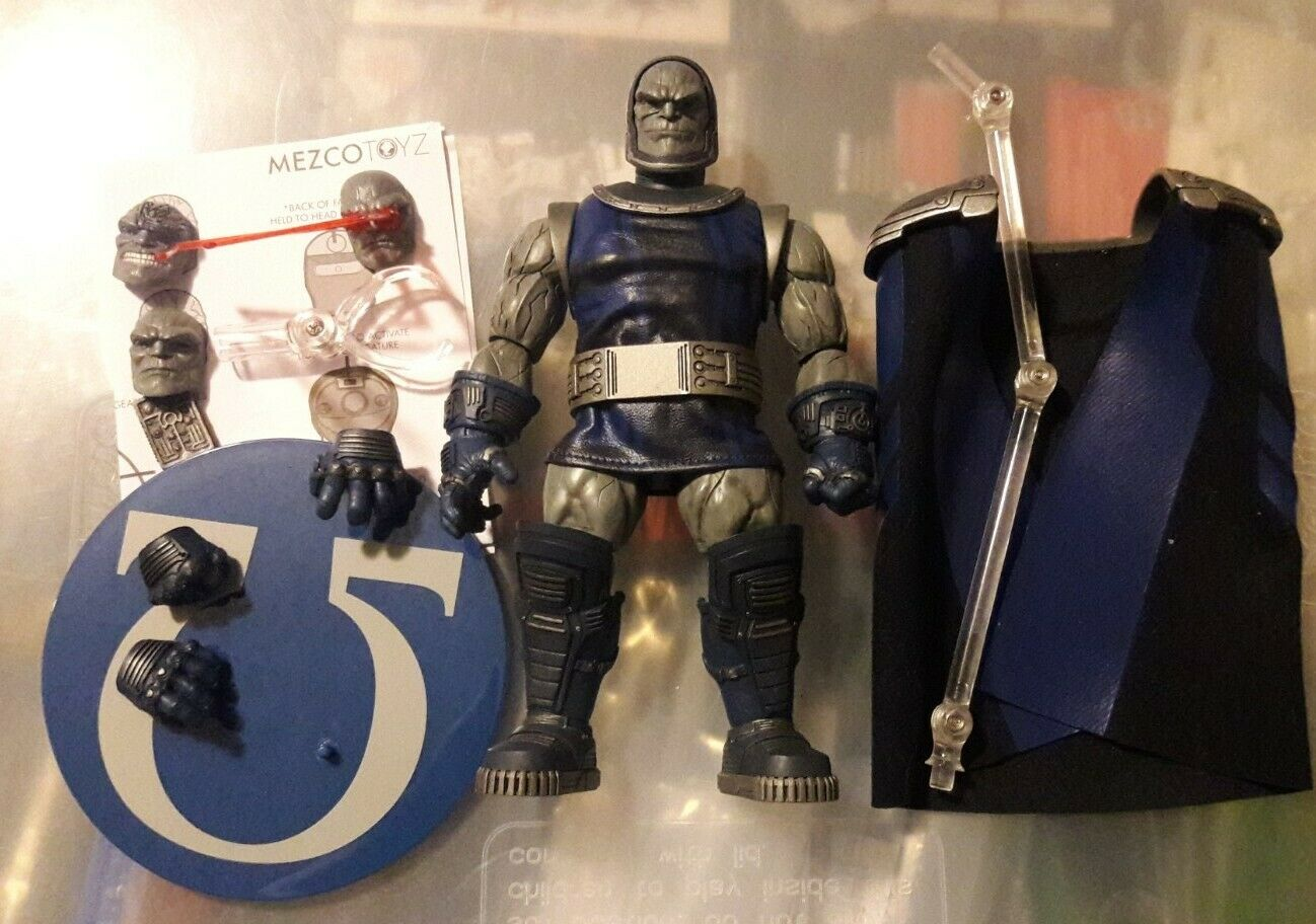 Mezco One:12 Collective DC Universe Darkseid on eBay thumbnail