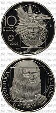 02086] REPUBBLICA ITALIANA - 10 EURO ARGENTO 2006 - LEONARDO DA VINCI _ PROOF