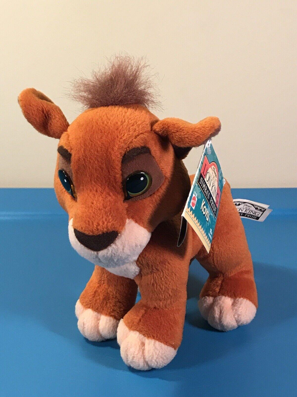 Plush Lion King Disney Kiara Simbas Pride Cub Kissing Mattel 1998 For Sale Online Ebay