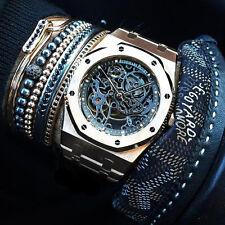 Men Women New Style Anil Arjandas Bracelet 18k Rhodium Filled Black Pave Macrame